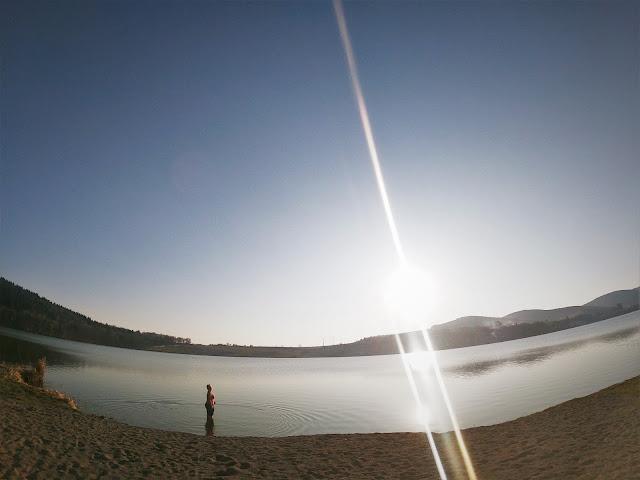 Lake Padureni-Moacsa, Romania