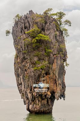 James Bond Island, Phan Nga Bay, Thailand.