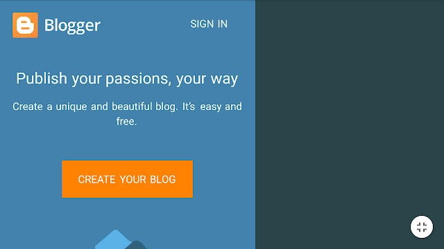 How to start blogging for free.