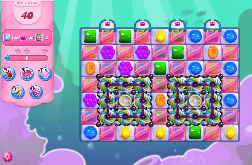 Candy Crush Saga level 9148