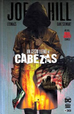 un cesto lleno de cabezas de Joe Hill y Leomacs comic terror