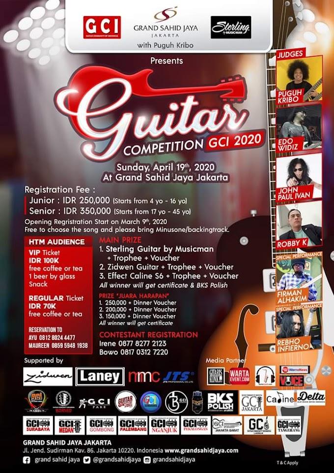 GCI Guitar Competition 2020 - Hotel Grand Sahid Jakarta