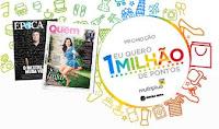 Promoção Eu quero um milhão de pontos euqueroummilhaodepontos.com.br