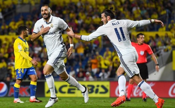 Benzema Real Madrid Las Palmas 2016