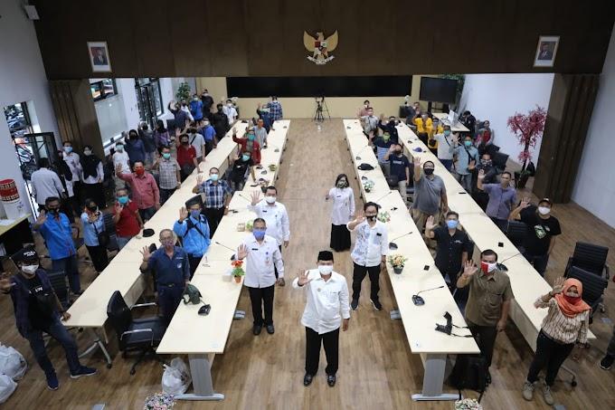 Walikota Madiun Gelar Koordinasi Bersama Wartawan Jelang Libur Idul Fitri