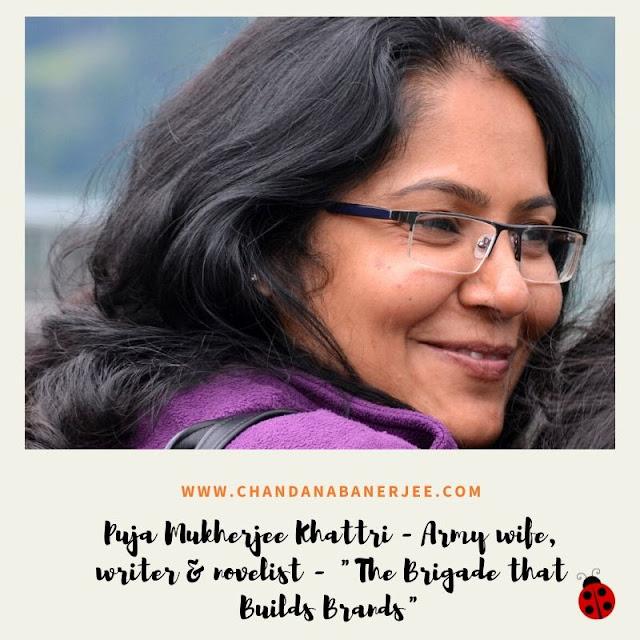 puja mukherjee khattri - writer, novelist, army wife