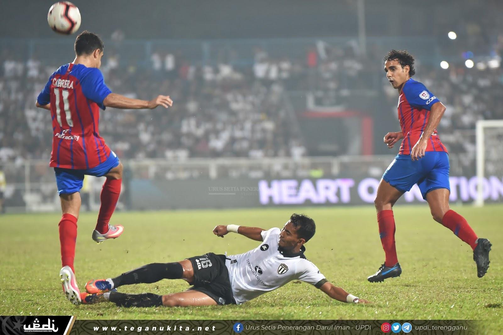 Terengganu FC Tewas 0-1 Kepada JDT
