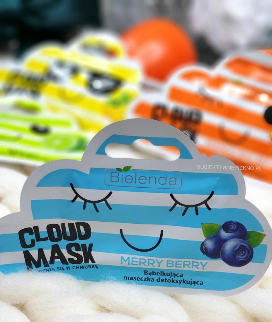 Bielenda Cloud Mask maseczki bąbelkujące cena, opinie, skład, recenzja
