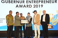 Gubernur NTB Raih Penghargaan Regional Leader Enterpreneur Awards 2019