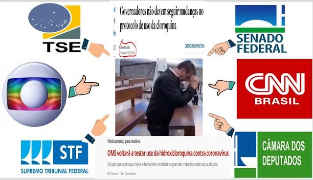 ISTO É QUE É GENOCÍDIO!! As 4 linhas de ataques da esquerda comunista para chafurdar e anarquizar o governo de Bolsonaro e seus apoiadores