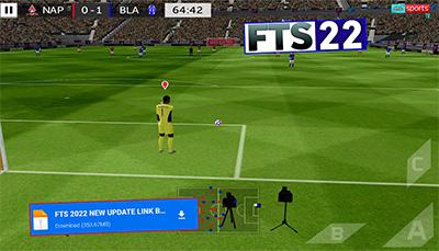 تحميل لعبة fts 2022 للاندرويد اخر اصدار مع تعليق الصوتي من ميديا فاير