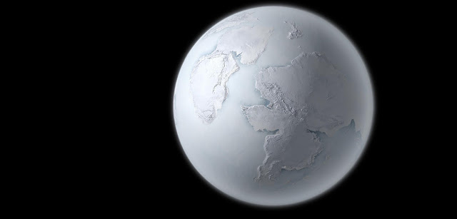 الأرض في العصر الجليدي الأول