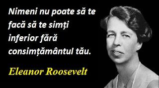 Citatul zilei: 10 octombrie - Eleanor Roosevelt