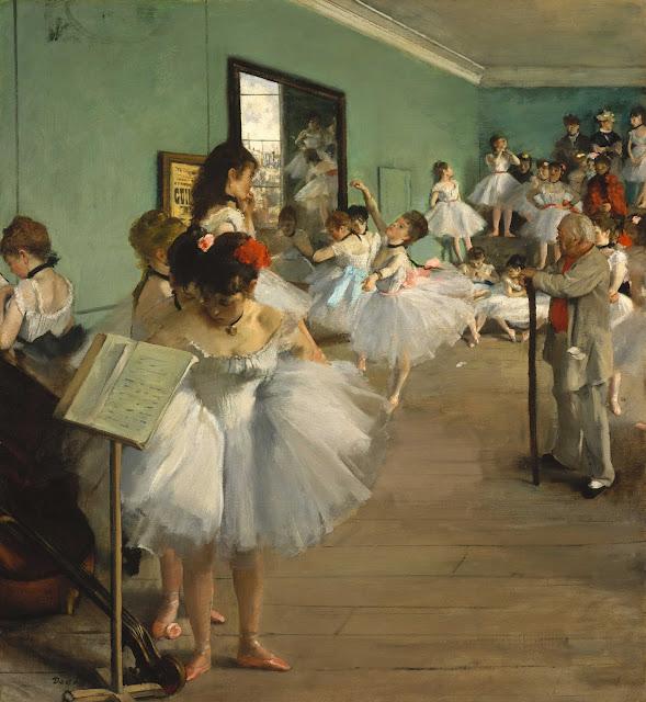 Эдгар Дега - Танцевальный класс (1874)