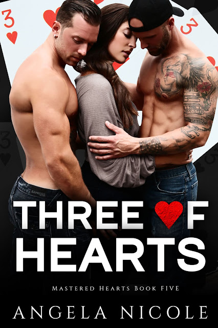 As brothers, we are always taught to share | Three of Hearts @angelawood22 #SteamyRomance