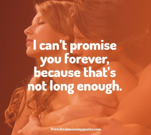 i cant promise you Forever in Love Valentines Day Quotes