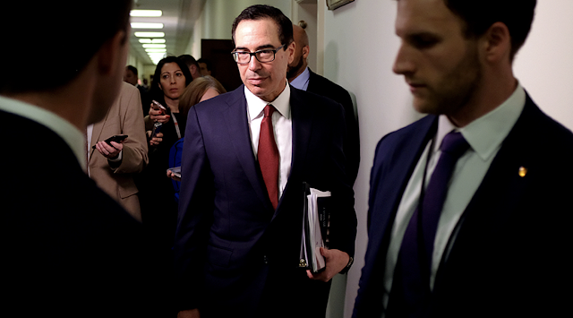 DOJ Says Mnuchin Was Right to Defy House Dems Request for Trump's Tax Return
