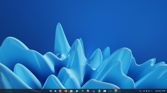 Zorin OS 16 Pro com aparencia do Widnows 11