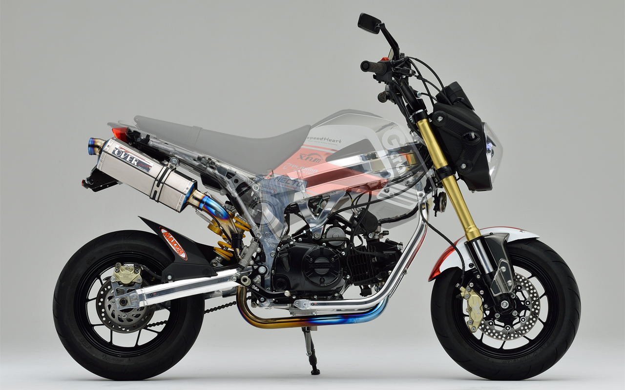 Racing Caf U00e8  Honda Grom By Gcraft