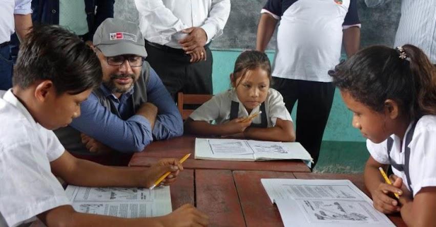 MINEDU informa que revisa y mejora textos escolares para el 2019 - www.minedu.gob.pe