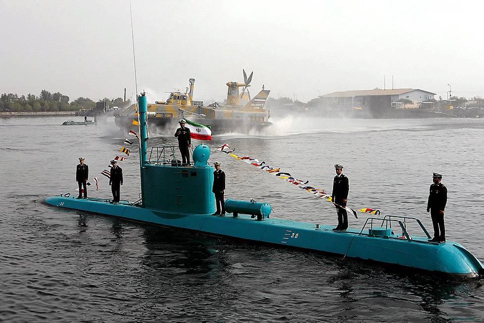 Consider, that iranian midget submarine pity, that