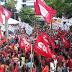 Protesto contra reforma da Previdência é realizado em Aracaju