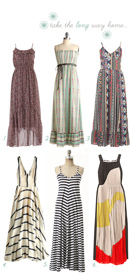maxi dresses summer 2011