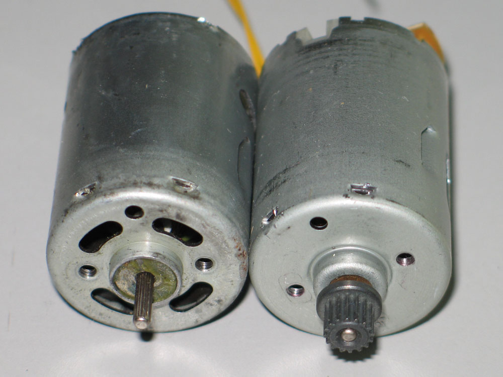 Georgesworkshop reliability and repair of the solar gearmotor for Who makes dayton motors