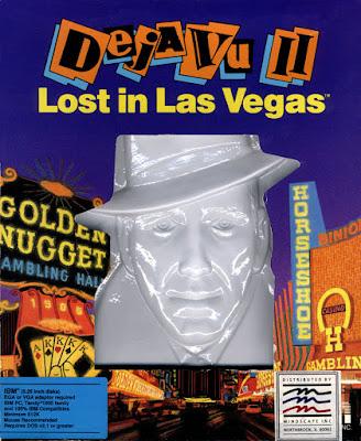 Portada videojuego Deja Vu II Lost in Las Vegas