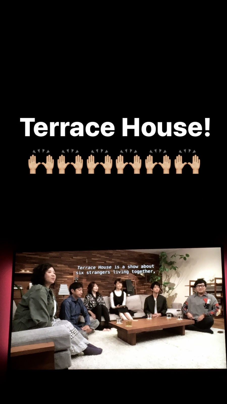Southern in law recent things saturdates the kristy for Terrace house tv