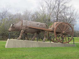 Red River Ox Cart Assiniboine Park