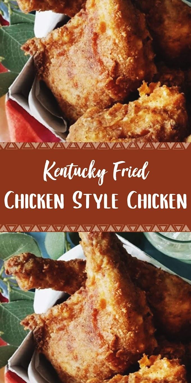 Kentucky Fried Chicken Style Chicken