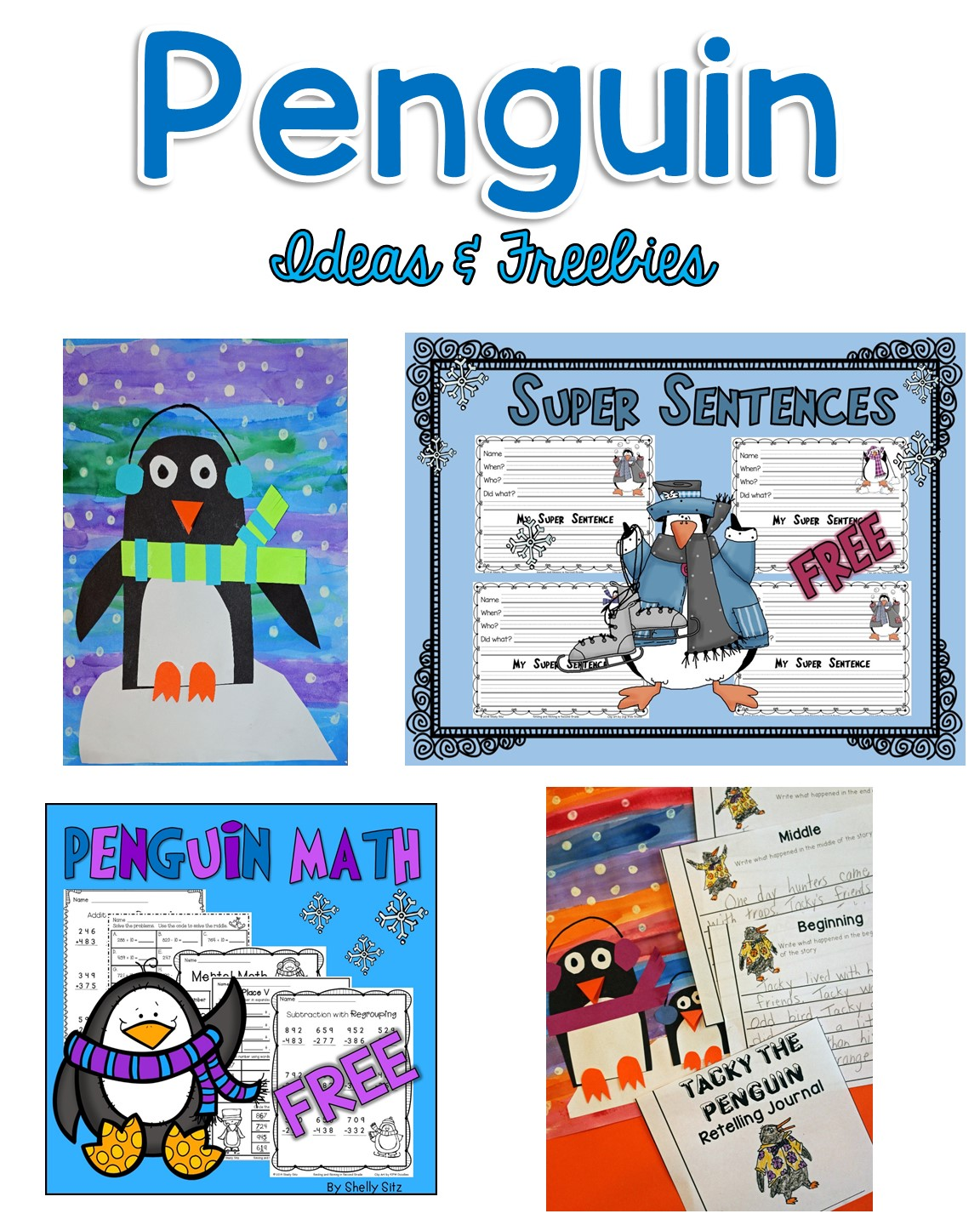 Smiling And Shining In Second Grade Penguin Ideas And