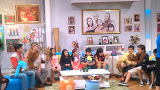Kak Tony Sahabat Dongeng berbagi cerita di acara Buah Hatiku Sayang TVRI Nasional