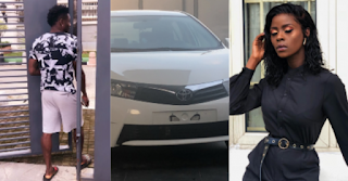 Footballer Obafemi Martins buys Khloe car