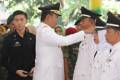 30 Pj Kapekon Dari 7 Kecamatan Se-Pringsewu Dilantik