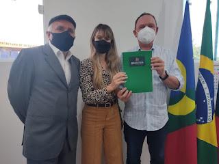 Em Gurjão Prefeito Ronaldo inicia o plano de recuperação de área degradada do antigo lixão
