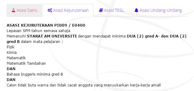 Uitm Dengkil Foundation In Engineering Asid
