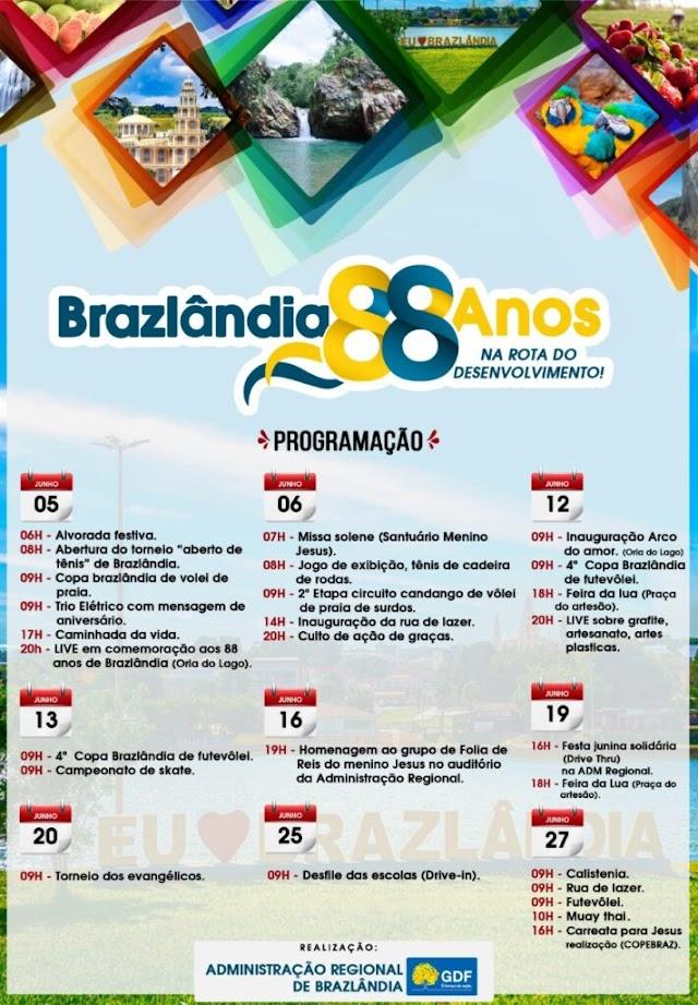 A RA de Brazlândia faz 88 anos cheia de motivos para comemorar