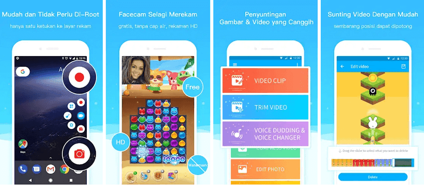 Perekam Layar Android Super Screen Recorder