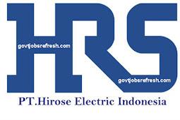 Loker Operator Terbaru PT. Hirose Electric Indonesia Bulan Desember 2018