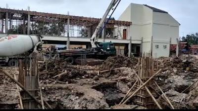 Proyek Pembangunan Gedung PN Kelas lB Indramayu Harus Sesuai Target