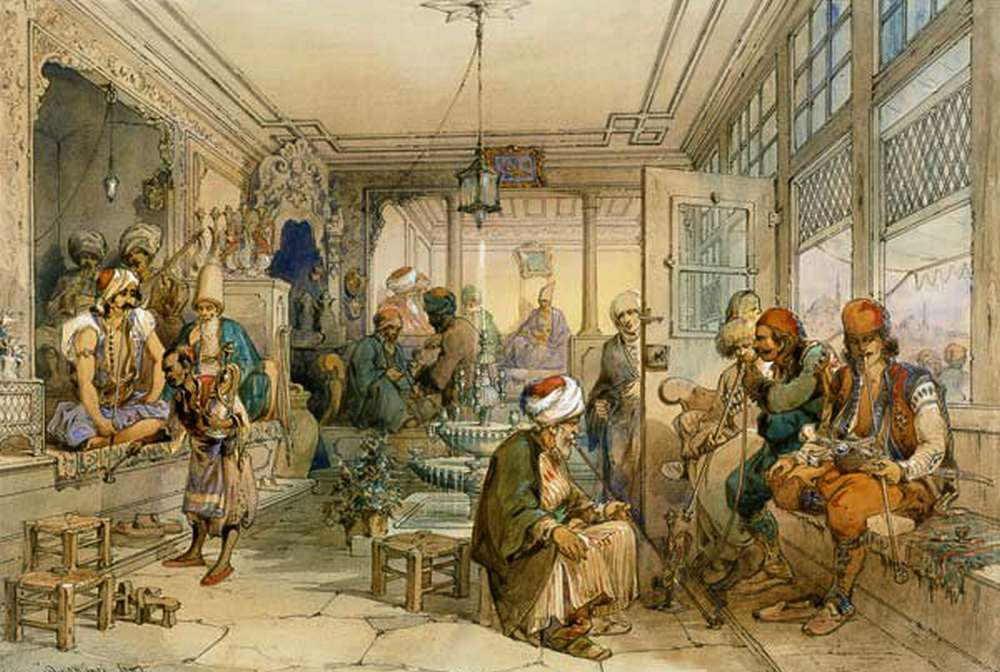 Kedai Kopi Kiva Han 1554 Pertama di Dunia (entrecafeseviagens.com)