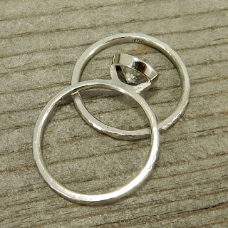 stackable palladium wedding rings