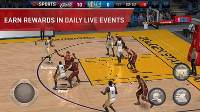 6. NBA Live Mobile