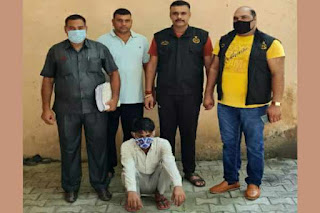 faridabad-sector-17-arrested-criminal-shahrukh-khan