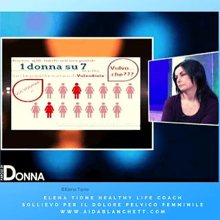 """Al Programma TV """"Parole di Donna"""" nel dicembre 2018 per parlare di Vulvodinia"""