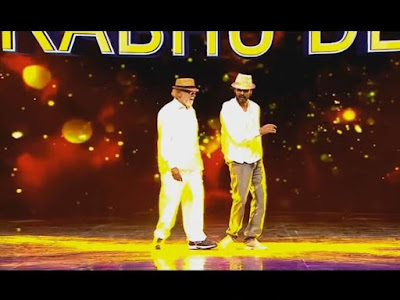 Actor Prabhu Deva Dances In A Reality Show With His Father