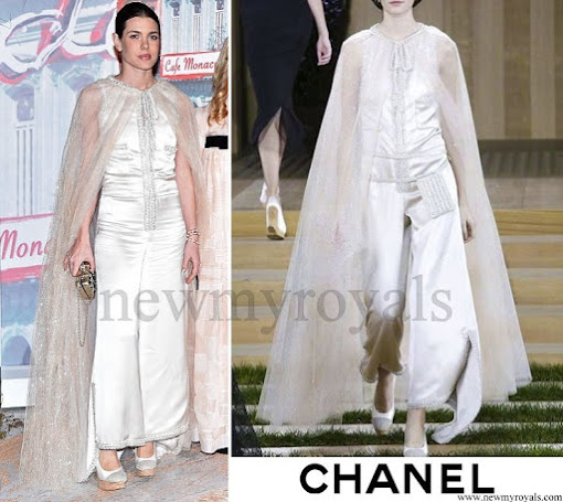 Charlotte Casiraghi wore Chanel dress Paris Haute Couture SS 2016