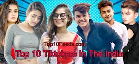 Top 10 Tiktokers In The India
